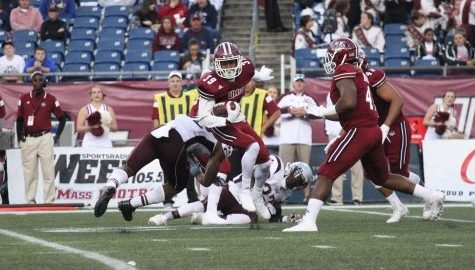 UMass football's fourth quarter comeback attempt falls short against Mississippi State Saturday