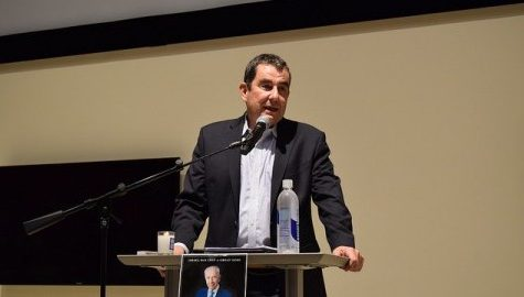 Israeli writer Ari Shavit speaks at Integrative Learning Center