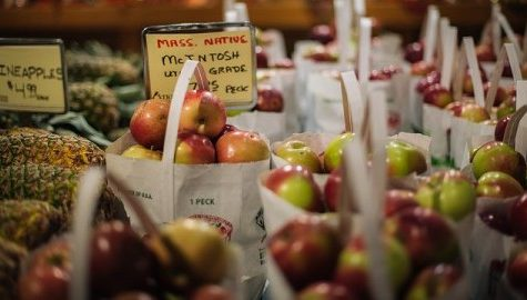 Apple crop reduced in wake of drought