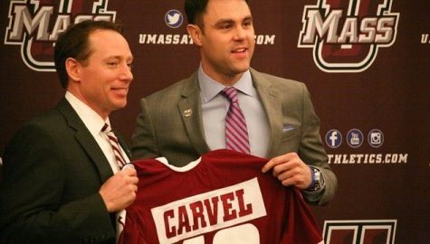 UMass hockey coach Greg Carvel ready to lead Minutemen in right direction