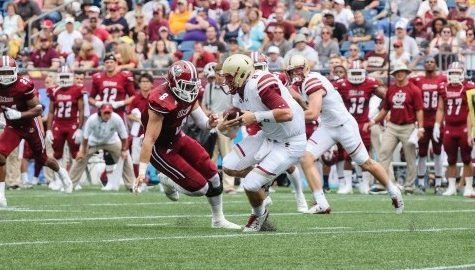 UMass linebacker Shane Huber to miss remainder of season with knee injury