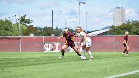 UMass women's soccer falls to La Salle Thursday in double overtime