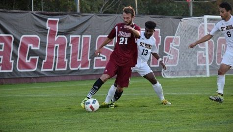 UMass men's soccer beats St. Bonaventure 1-0 to earn first A-10 win