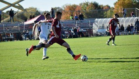 Men's soccer unbeaten streak ends against URI