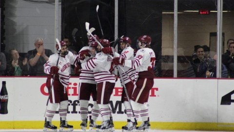 UMass hockey secures first win in Greg Carvel era Friday night