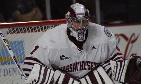 Freshman goalie Ryan Wischow leads UMass hockey in win over Colorado College