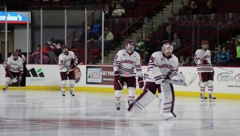 UMass hockey can't overcome slow start in Saturday's loss to Colorado College