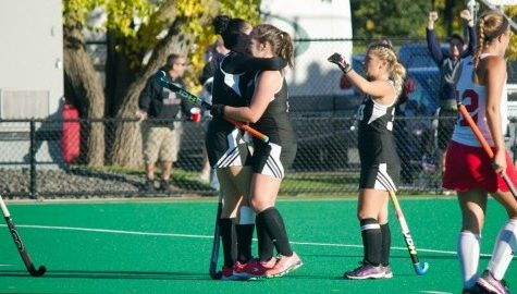 Izzie Delario's late goal secures win for UMass field hockey