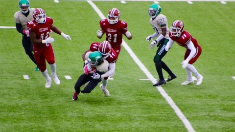 UMass football plays well in all facets of the game in win against Wagner Saturday