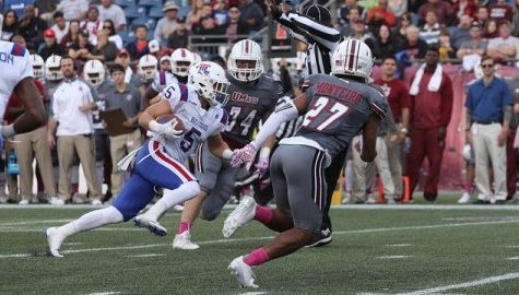 UMass football handed fourth consecutive loss in 56-28 defeat to LA Tech