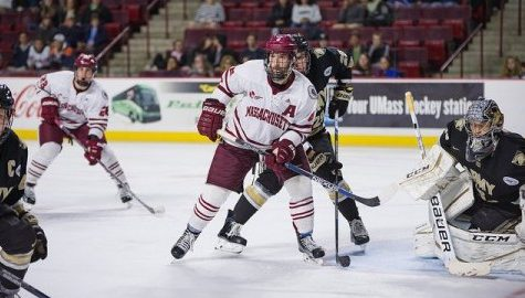 UMass hockey begins conference play with a pair of home games this weekend