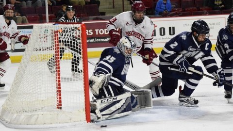 UMass hockey struggles with consistency in loss to UNH