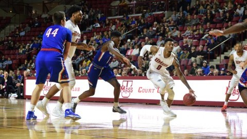 UMass basketball tops UMass Lowell 90-76 in season opener