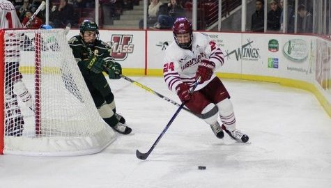 Hockey Notebook: Minutemen can't secure win in Belfast, ink six signees for next season