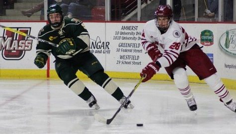 UMass hockey suffers another lackadaisical start in 2-1 loss to Vermont