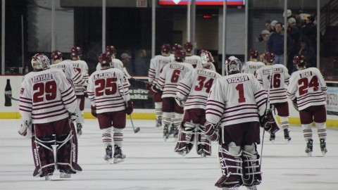 Second period plagues UMass hockey in UNH loss