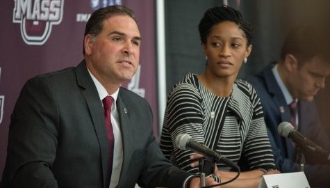 New UMass women's basketball head coach Tory Verdi looks to continue his program rebuilding streak with the Minutewomen