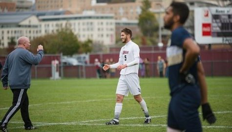UMass men's soccer zeros in on clinching a spot in A-10 tournament vs. Fordham