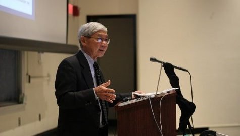 Professor Franklin Odo gives lecture on the legacy and the Japanese American Experience of Internment Camps