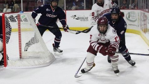 Keats, Wischow spearhead comeback in UMass hockey's 2-2 tie with UConn