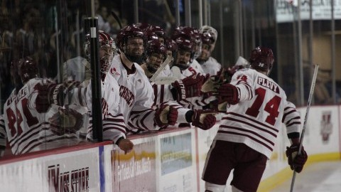 Strong first period propels UMass hockey to first Hockey East victory of the season