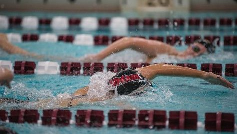 UMass men's and women's swimming and diving fall to Ivy schools in tri-match, show improvement in loss