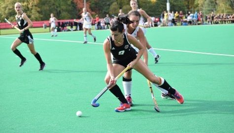 UMass field hockey battles for NCAA play-in game victory vs. Monmouth