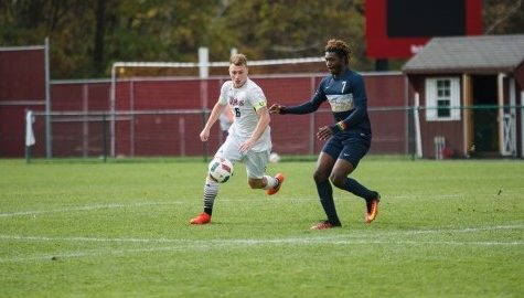 UMass men's soccer clinches spot in A-10 tournament in victory over Fordham