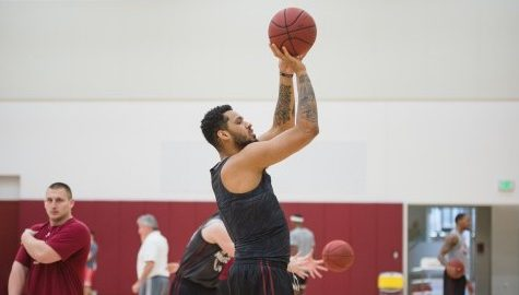 Springfield native Chris Baldwin finds his way back home playing for UMass men's basketball