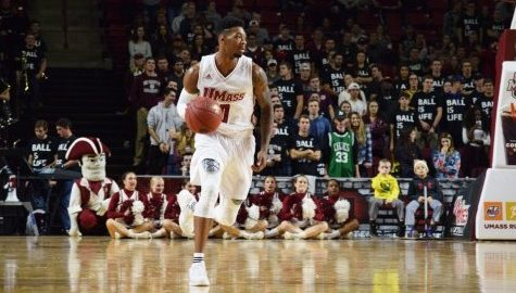 Donte Clark lifts UMass basketball past Harvard in Massachusetts rivalry