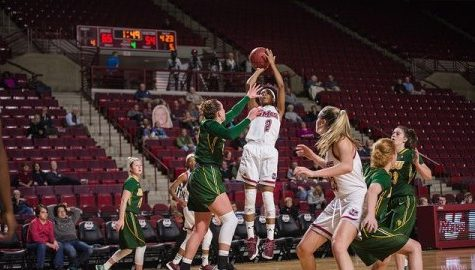 UMass women's basketball cruises past Merrimack 73-44 Sunday