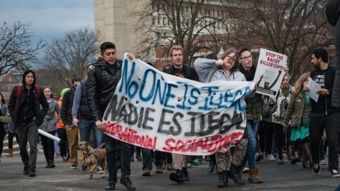 UMass protests president-elect and pushes for sanctuary campus