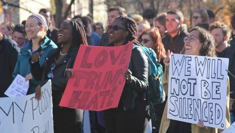 Students come together for 'Ignite Your Right: Humanity Against Trump' event