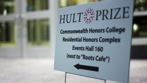 Winning Hult Prize team at UMass to travel to semi-finals of competition in March