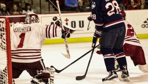 UMass hockey drops third consecutive game in 4-3 loss at Princeton