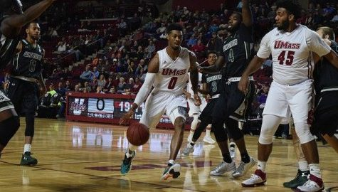 UMass men's basketball picks up fourth straight win as it tops Wagner Wednesday night at Mullins Center