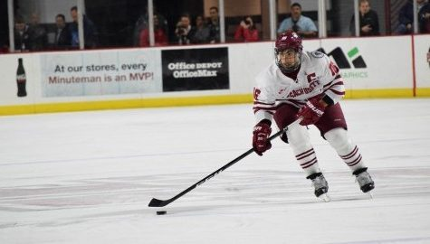 Captain Steve Iacobellis scores, but UMass hockey can't find its offensive rhythm in 3-1 loss to UConn