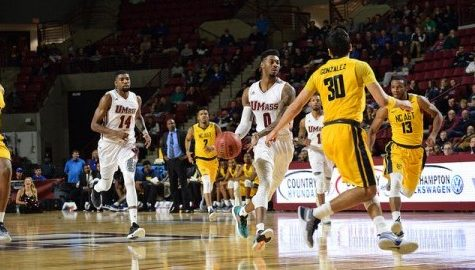 UMass men's basketball squeaks past North Carolina A&T Tuesday night