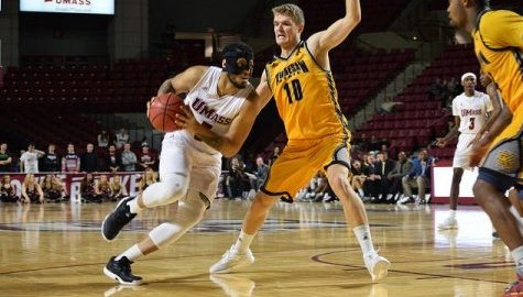 UMass men's basketball gets complementary play from frontcourt in win over Kennesaw State