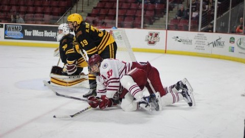 UMass hockey enters holiday break on a sour note with back-to-back home losses to the Sun Devils