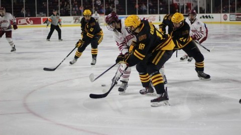 UMass hockey swept by Arizona State on last weekend of the first semester in 4-1 defeat Saturday