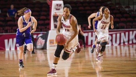 UMass women's basketball mount massive comeback, take 69-66 thriller over Holy Cross