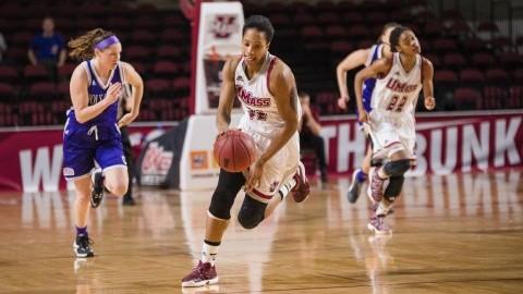 UMass women's basketball mount massive comeback, take 69-66 thriller over Holy Cross