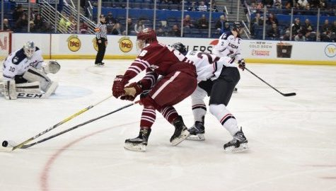 Souza: Midseason grade for UMass hockey is good, not great