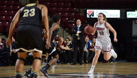 McDerment acts as major catalyst for UMass offense in 68-62 win against Bryant