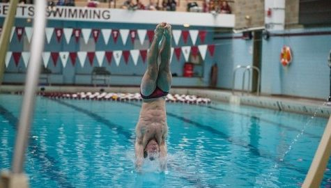 Men's and women's swim and dive both fell to Army at Boyden on Friday night, Oct. 14, 2016. ( Judith Gibson-Okunieff/Daily Collegian)