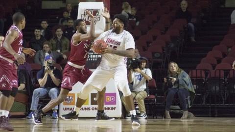 UMass men's basketball drops thirds straight, falls to VCU 81-64