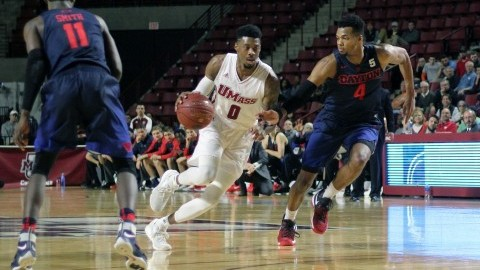 UMass men's basketball's late comeback falls short after blowing 15-point first-half lead