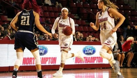 UMass women's basketball look to improve its road record against La Salle Wednesday