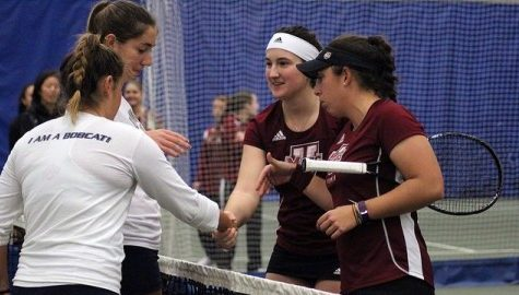 Tennis Recap: Minutewomen put together strong team effort in victory over Quinnipiac